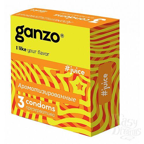 Фотография 1: Ganzo Презервативы GANZO Juice No3