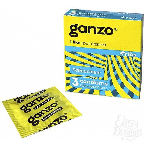 Фотография 1: Ganzo Презервативы GANZO ribs No3