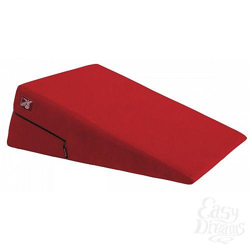 Фотография 1:  Большая красная подушка для секса Liberator Retail Ramp