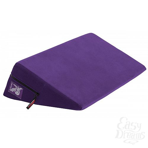 Фотография 1:  Фиолетовая малая подушка для любви Liberator Retail Wedge