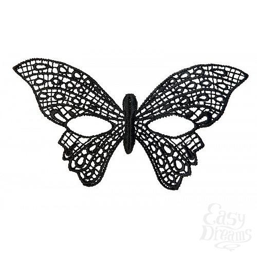 Фотография 1:  Нитяная маска в форме бабочки