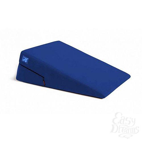 Фотография 1:  Синяя подушка для любви Liberator Retail Ramp