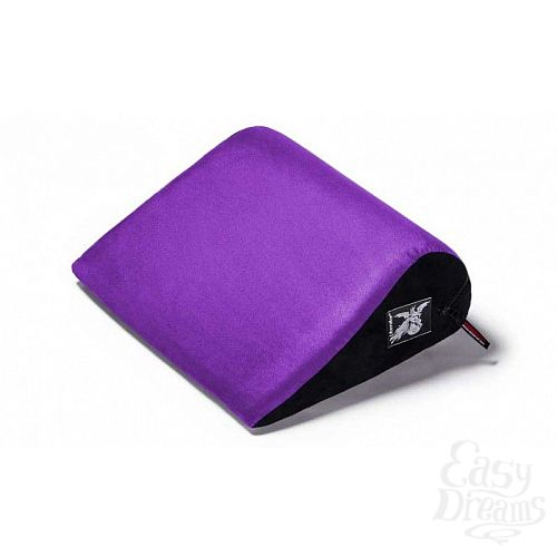 Фотография 1:  Фиолетовая малая замшевая подушка для любви Liberator Retail Jaz