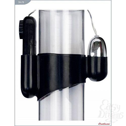 Фотография 2  Мини-вибратор на эластичном держателе для мужских помп Eroticon