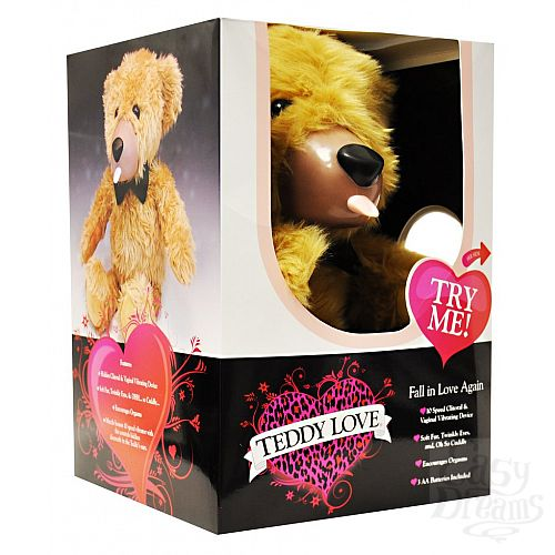 Фотография 3 TEDDY LOVE Забавный вибратор в виде медвежонка Teddy Love 51 см