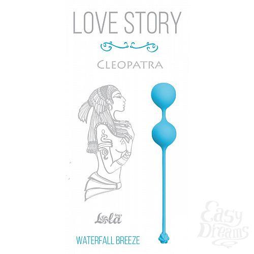 Фотография 1:  Голубые вагинальные шарики Cleopatra Waterfall Breeze