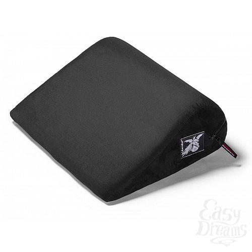 Фотография 1:  Малая подушка для любви Liberator Retail Jaz из черной замши
