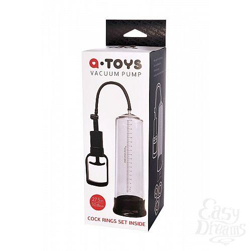 Фотография 4  Прозрачная вакуумная помпа A-toys с уплотнительным кольцом
