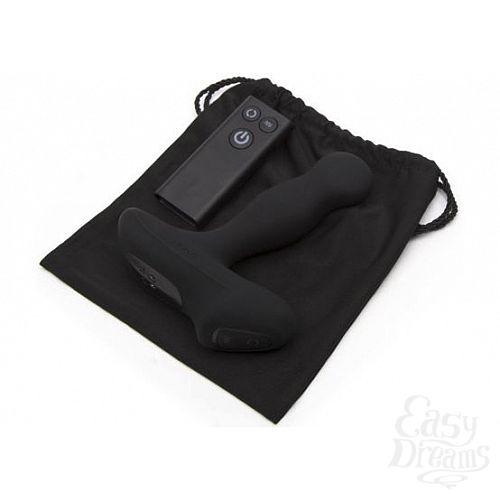 Фотография 4  Чёрный перезаряжаемый массажёр предстательной железы NEXUS Revo Slim