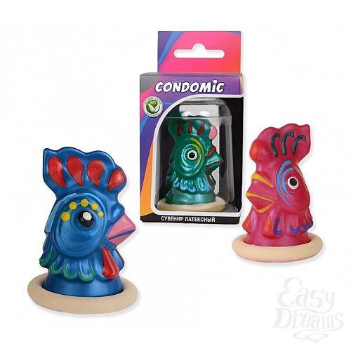 Фотография 1:  Сувенирный латексный презерватив  Какаду