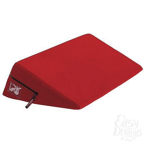 Фотография 1:  Красная малая подушка для любви Liberator Wedge