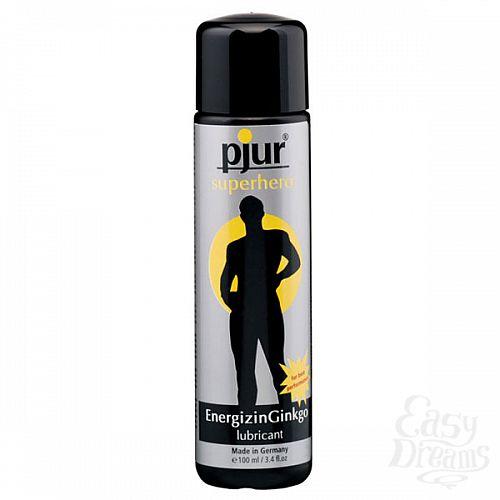 Фотография 1:  Мужской лубрикант pjur superhero lubricant, 100 ml