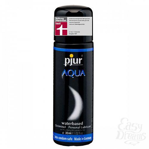 Фотография 1:  Увлажняющий лубрикант Pjur AQUA,  30 ml