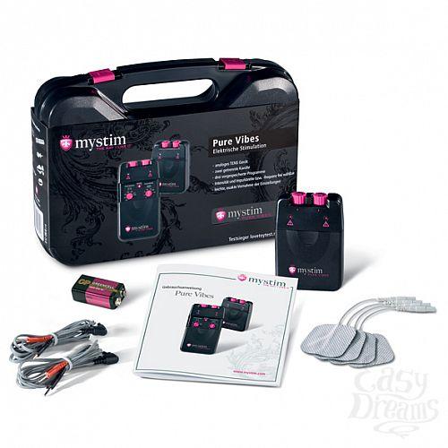 Фотография 1:  Аналоговый электростимулятор Mystim Pure Vibes