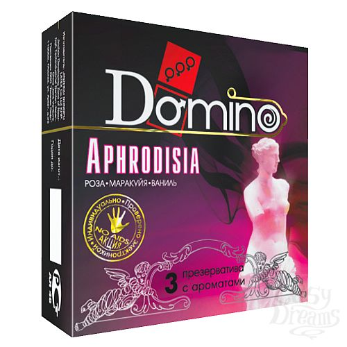 Фотография 1: Классика Групп Презервативы Domino Aphrodisia №3