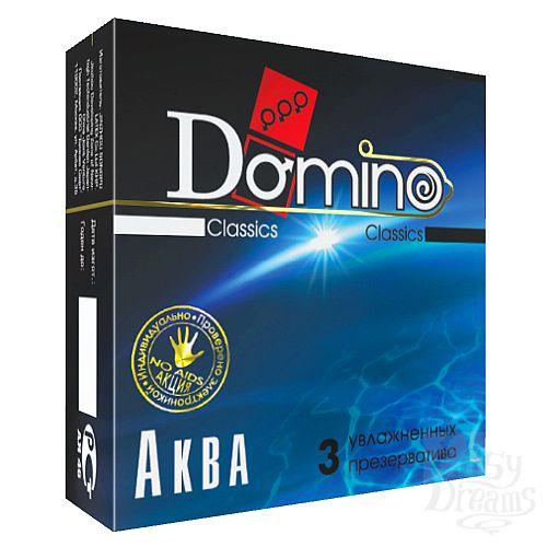 Фотография 1: Классика Групп Презервативы Domino Аква №3