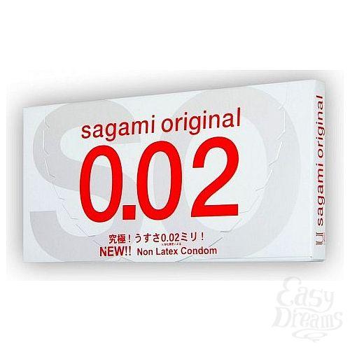 Фотография 1: Классика Групп Презервативы полиуретановые Sagami №12 Original 0,02