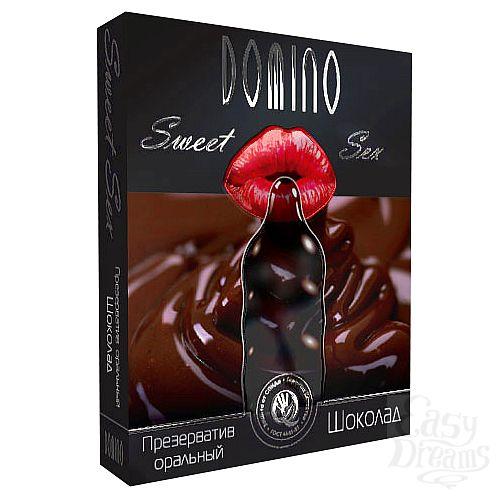 Фотография 1: Luxe презервативы Презервативы Domino Sweet Sex Шоколад