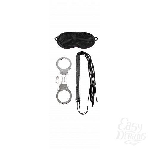 Фотография 3  набор: наручники, плетка и маска