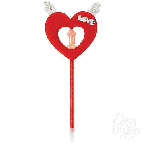 Фотография 2 California Exotic Novelties, Америка  Ручка с декоративным красным сердцем 2462-00 CD SE
