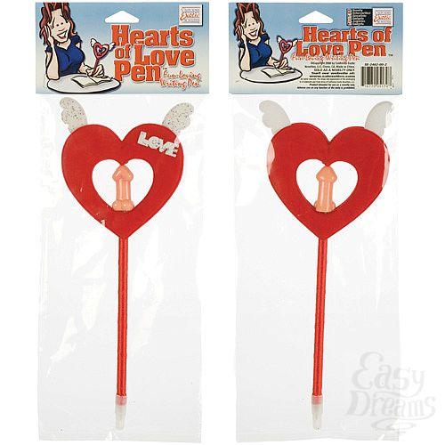 Фотография 3 California Exotic Novelties, Америка  Ручка с декоративным красным сердцем 2462-00 CD SE