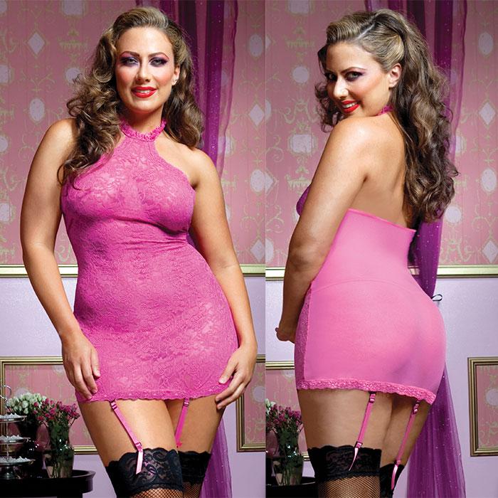 Эротичное белье больших размеров в магазине странно