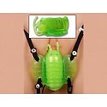 Зеленая бабочка для клитора из силикона  Клиторальный стимулятор *Бабочка* на эластичных ремешках для крепления к телу. Бабочка выполнена из силикона зеленого цвета, ее Размеры: длина тела 5 см, размах крылышек 4,5 см.. Вибрация может плавно изменяться благодаря выносным пульту управления вибрацией. Доставит удовольствия Вашему клитору и Вам. Для пульта требуется две батарейки АА.