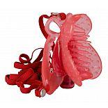 Розовая вибробабочка на регулируемых ремешках  Розовая вибробабочка на регулируемых ремешках. 1 режим вибрации, вибропуля вынимается.
