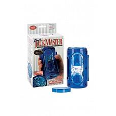 Супер-мастурбатор Travel Jackmaster гелевый голубой  Гелевый супер-мастурбатор в пластиковой тубе воплотит все Ваши фантазии в реальность. Теперь Ваше удовольствие в Ваших руках. Подхватывай инициативу и вперед! Длина: 15 см; Диаметр: 8 см; Цвет: Голубой; Материал: TPR; Производитель: California Exotic Novelties.