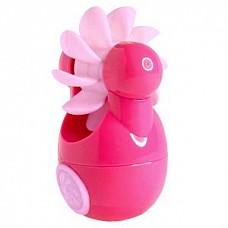 Розовый клиторальный вибростимулятор Sqweel Go Pink  Карманный клиторальный вибратор Sqweel Go Pink  невероятно мощный. Симулятор орального секса для женщин, оборудован вращающимся колесом с 10 силиконовыми язычками. Дарит потрясающие приятные ощущения. 6 скоростей и режимов позволяют выбрать нужную интенсивность стимуляции индивидуально.  <br><br>Заряжается от сети через USB-вход. Для полной зарядки потребуется 2 часа. Время непрерывной работы: 1 час.