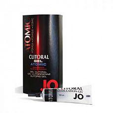 Возбуждающий гель для клитора мощного действия JO Clitoral Atomic - 10 мл.  Супер эффективный для супер-ощущений. Создан женщинами для женщин. Не содержит аминокислот. Безопасен для использования с презервативами. До 50 применений.