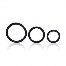Набор эрекционных колец Tri-Ring  Вам нужно что-то такое, что привело бы вашу партнершу в восторг? Попробуйте самое простое – эрекционное кольцо.