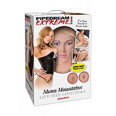 Кукла надувная PDX Dollz - Mona Mountains.  Кукла надувная PDX Dolls – Mona Mountains – хрупкая блондинка с удивительно нежной светлой кожей.