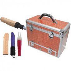 Секс-чемодан Wiggler  Частота фрикций: регулируемая от 80 до 300 в минуту.