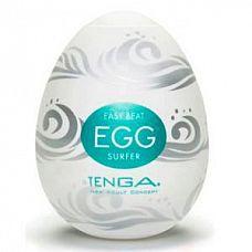 Мастурбатор Tenga Egg Surfer  Мастурбатор в форме яичка Tenga Egg Surfer № новое слово в фаллостимуляции.