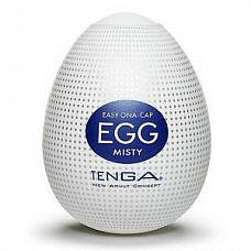 Мастурбатор Tenga Egg Misty  Мастурбатор Tenga Egg Misty необычен как по форме, так и по принципу использования.