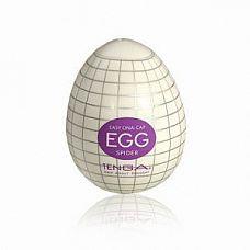 Мастурбатор Tenga Egg Spider  Это белое яичко в корпусе-скорлупе № источник сказочного удовольствия, а не белка.