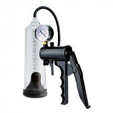 Вакуумная помпа Max-Precision Power Pump  Вакуумная помпа выполненная из прозрачного пластика с уплотненной манжетой черного цвета.