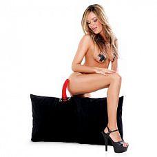 Наволочка для подушки с фаллоимитатором Pleasure Pillow  Превратите свою обычную подушку в невероятную сексуальную игрушку с помощью этой наволочки.