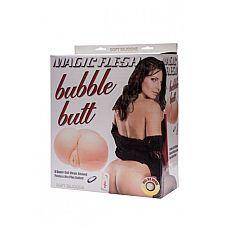 Реалистичные вагина и анус MAGIC FLESH BUBBLE BUTT с вибрацией телесные  Реалистичные вагина и анус MAGIC FLESH BUBBLE BUTT создана для полного удовлетворения сильной половины человечества.