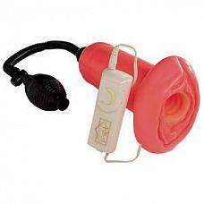 Мастурбатор с вакуумной стимуляцией Power Piston   Помпа-мастурбатор Power Piston - это вакуумная помпа, оформленная в виде вагины-мастурбатора.
