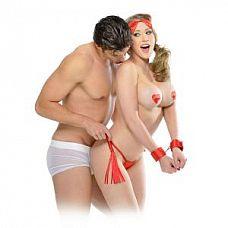 Набор для бондажа Sweetheart Bondage Kit Red  Набор для бондажа Sweetheart Bondage Kit Red