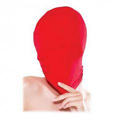 Красная закрытая маска на лицо  Красная закрытая маска на лицо