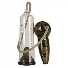 Автоматическая вакуумная помпа Rock Hard Pump  Вакуумная помпа, выполненная из прозрачного материала с уплотненной манжетой прозрачного цвета, которая плотно обхватывает половой член, создавая полную герметичность.