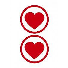 """Пестисы """"Round Hearts"""" красные SH-OUNS009RED  Яркие пестисы для девушек, которые почитают эксперименты в эротических отношениях, и тех, кто готов волновать любимого разными интересными образами."""
