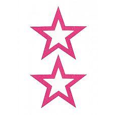 """Пестисы открытые """"Звезды""""розовые SH-OUNS012PNK  Собрались на вечеринку, а под сексуальный наряд традиционный лифчик не подходит? На этот случай обратитесь к такому аксессуару как пестисы."""