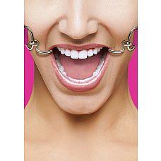 Кляп Hook Pink SH-OU106PNK  Расширяющий кляп в форме двух крюков с резиновыми наконечниками для безопасного использования.