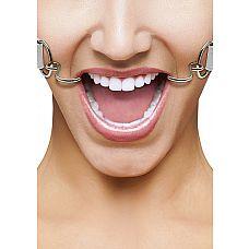 Кляп Hook WhiteSH-OU106WHT  Расширяющий кляп в форме двух крюков с резиновыми наконечниками для безопасного использования.
