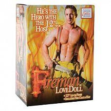 Кукла надувная Fireman  Кукла-пожарный в человеческий рост.