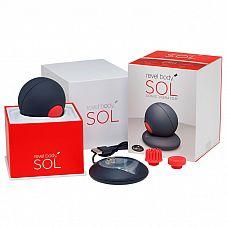 Магнитно-левитационный пульсатор Revel Body SOL с широким диапазоном вибрации  Почувствуй себя обновленным, заряженным энергией и умиротворенным с новым Revel Body SOL, с первым в мире массажером, который работает с частотой энергии ОМ.